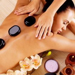 hot stone treatment use on homepage, salon treatments, pamper box page