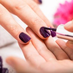 maicure pic on pamper page on manicure course page